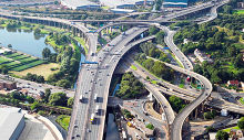 Birmingham, The Gravelly Hill Interchange - the original Spaghetti Junction.West Midlands © Highways Agency